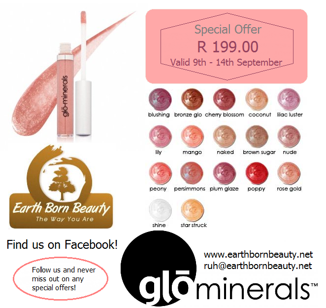 Glominerals for glamorous lips.